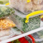congelateur armoire aliments